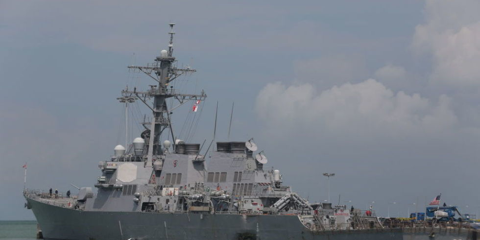To Avoid Future Collisions US Navy Ships Will Advertise Their - Us navy future map