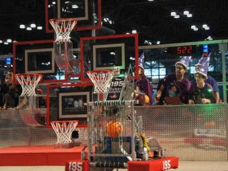 The Basketball Shooting Bots Of First Robotics Nyc