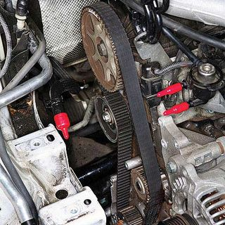 Twin City Mazda >> Timing Belt Replacement - Marks on Timing Belt