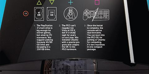 how to turn a ps3 into a windows pc