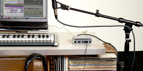 how to set up m audio axiom 49