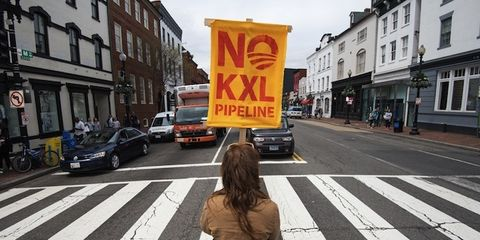 a discussion on the keystone xl oil pipeline and its potential influence on the environment Announced thursday that it would review the route of the disputed keystone xl oil pipeline as the environment political influence in the.