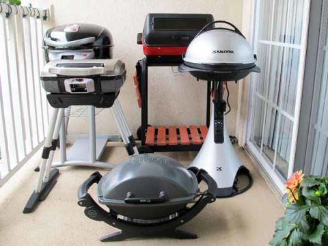 bbq on balconies Bring some foodie fun to your apartment balcony with this super space saving balcony bbq.