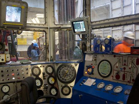 Gallery On Board Shell S Kulluk Oil Rig