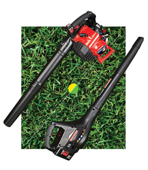 Landscaping Gas Tools : Backyard battle gas vs electric lawn tools