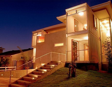 Multi-Container House, Redondo Beach california