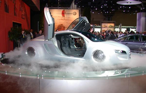 The Audi I Robot Car