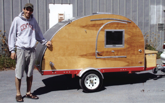 Gallery For > Teardrop Trailer Plans Harbor Freight