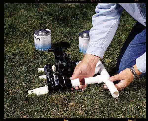 How to Install a Sprinkler System Installing an Underground – Lawn Sprinkler System Wiring Diagram