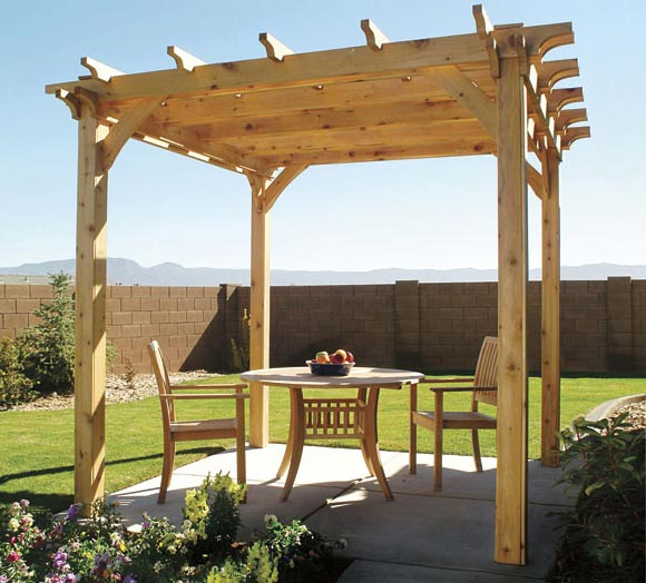 how to build a pergola step by step diy building a pergola. Black Bedroom Furniture Sets. Home Design Ideas