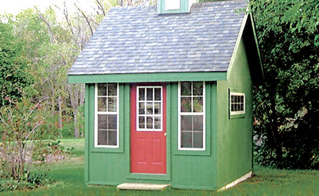 michigan garden shed