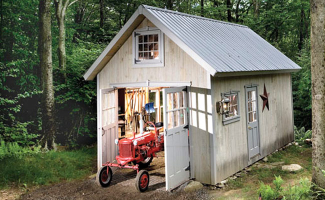 How to Build a Garden Shed Free Plans