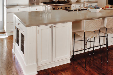 New materials make kitchen countes more attractive and durable. This ...