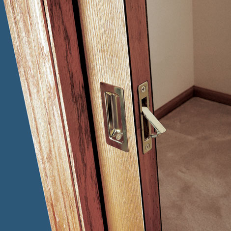 How to install sliding door hardware for Door installation