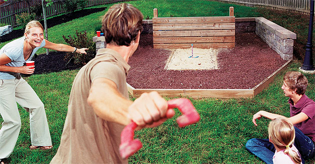 Horseshoes Backyard Games - Landscaping Network
