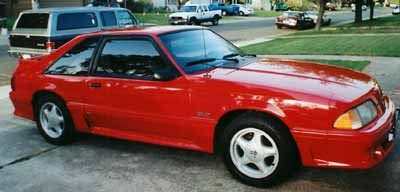 1991 Ford Mustang Fiery Fox Body