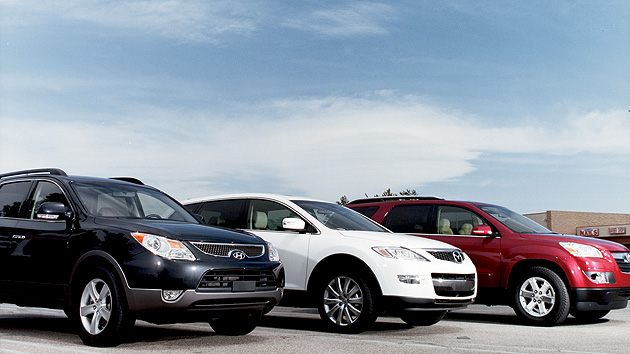 Crossover Vehicle Comparison Best Crossover Vehicles Review