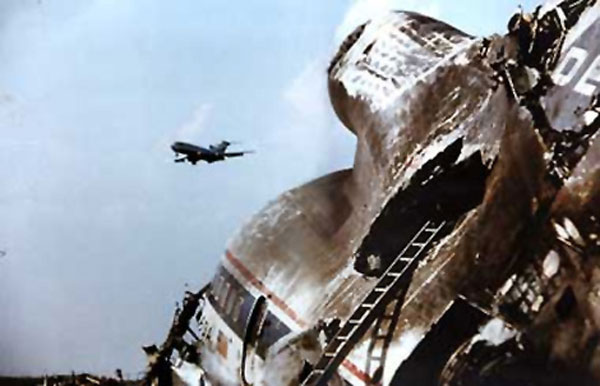 Delta Flight 191 wreckage