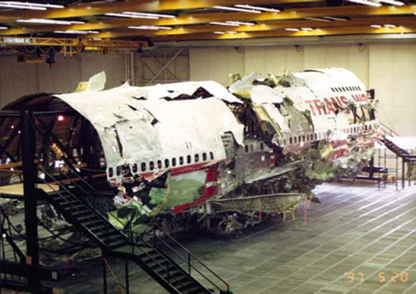 TWA Flight 800 747