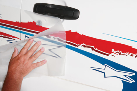 How To Install Vinyl Graphics On Your Car - Custom vinyl decal application solution