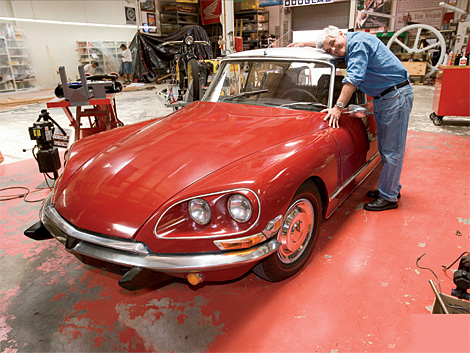 Jay Leno Ponders Charm And Quirky Engineering Of French Cars