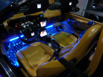 porsche boxster f5 986 gts comes preloaded with xbox playstation lcds. Black Bedroom Furniture Sets. Home Design Ideas