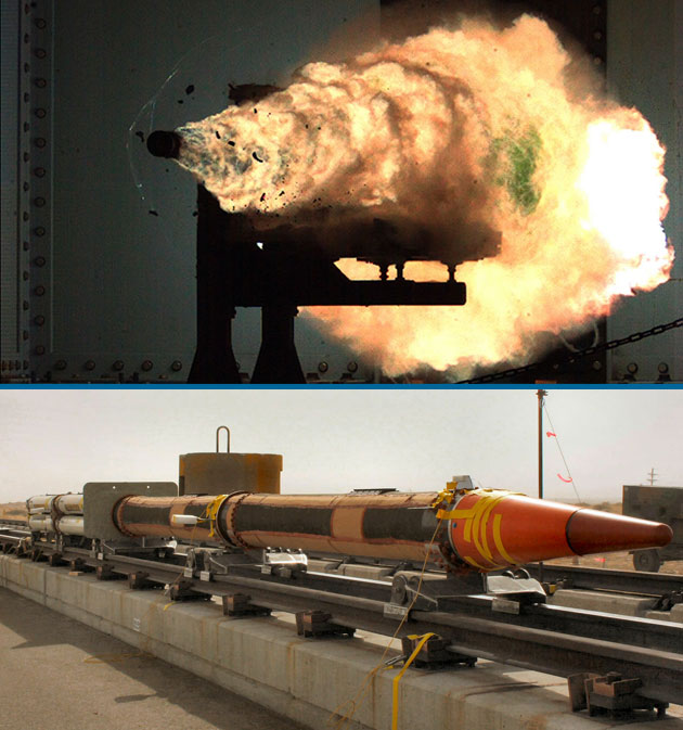 Navy Tests Super-Powered Rail Gun & 6500-mph Secret ...