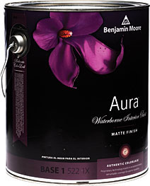 Low odor indoor paints that stop headaches abusive lab test for Benjamin moore aura interior matte 522