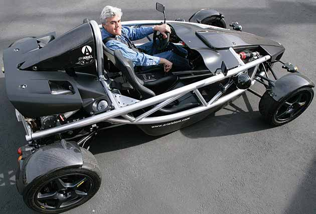 Jay Leno Drives Street Legal Go Kart Lightweight Sports Cars