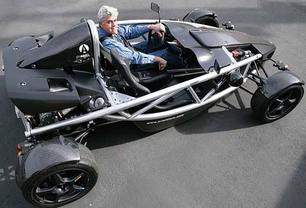 Jay Leno Drives Street Legal Go Kart Lightweight Sports Cars
