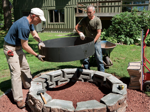 ... Garden Design With How To Build A Fire Pit Outdoor Fire Pit Ideas Uamp  Designs With