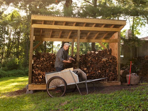 How to Build a Firewood Shed