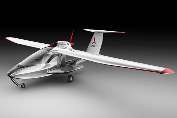 icon a5 folding airplane startup unveils a5 personal jet. Black Bedroom Furniture Sets. Home Design Ideas