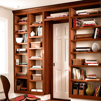 Beautiful How To Build A Bookcase Wall  HowToSpecialist  How To