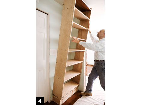 Advertisement - Continue Reading Below - How To Build A Bookcase: Step-by-Step Woodworking Plans