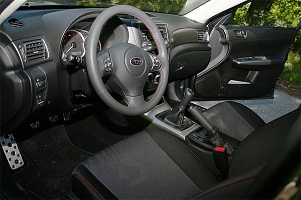 2009 Subaru Impreza WRX Test Drive 265 Horses Comes HalfStep