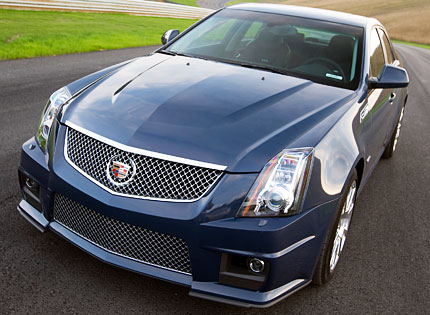 2009 cadillac cts v blue 200 interior and exterior images. Black Bedroom Furniture Sets. Home Design Ideas