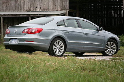 2009 Volkswagen CC Test Drive New Coupe Delivers Upscale Style