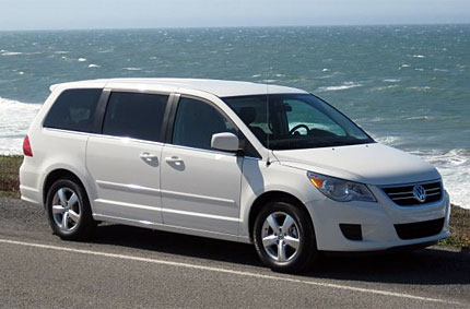 2009 vw routan test drive vw s first american style minivan takes a