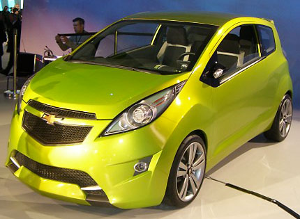 2011 Chevrolet Spark Takes Chevy Into Hip Small Car Territory