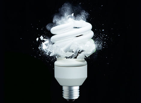 When CFLs Fail: How to Keep Your Compact Fluorescent Glowing