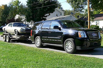 2009 GMC Yukon Hybrid Towing Test Drive How Efficiently Do Hybrid