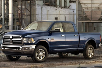 2010 dodge ram 2500 3500 hd has aggressive new style and. Black Bedroom Furniture Sets. Home Design Ideas