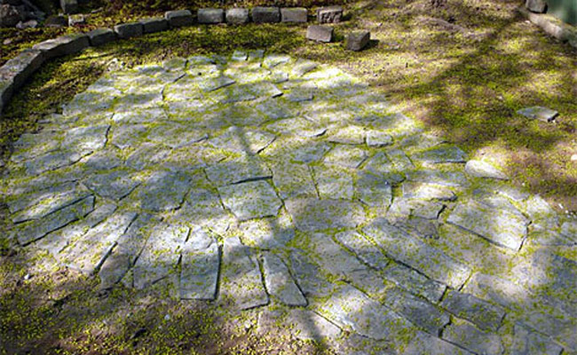 how to build a flagstone patio - designs for flagstone patio - Flagstone Patio Designs