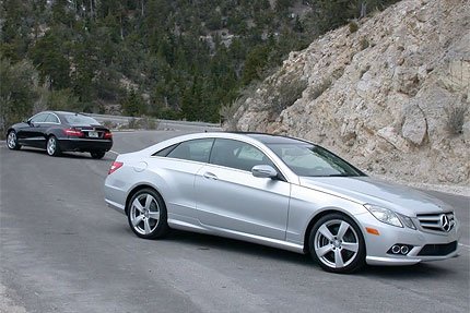2010 mercedes benz e350 and e550 coupe test drive posh. Black Bedroom Furniture Sets. Home Design Ideas