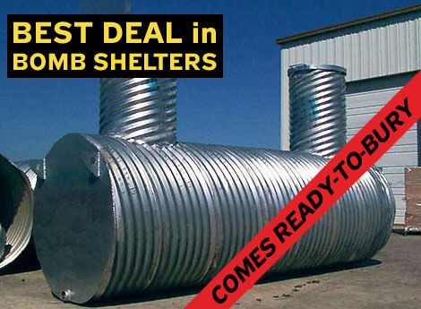 Bomb Shelters Reviews of Bomb Fallout Shelters