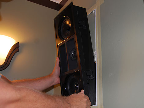 How To Install In Wall Surround Sound Speakers Diy Tech