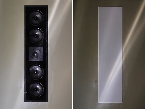 In Wall Home Theater Systems how to install in-wall surround-sound speakers: diy tech