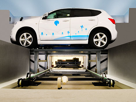 Electric Car Battery Replacement Stations