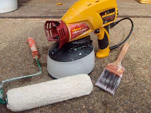 Painting Tool Showdown Brush Roller Vs Paint Sprayer